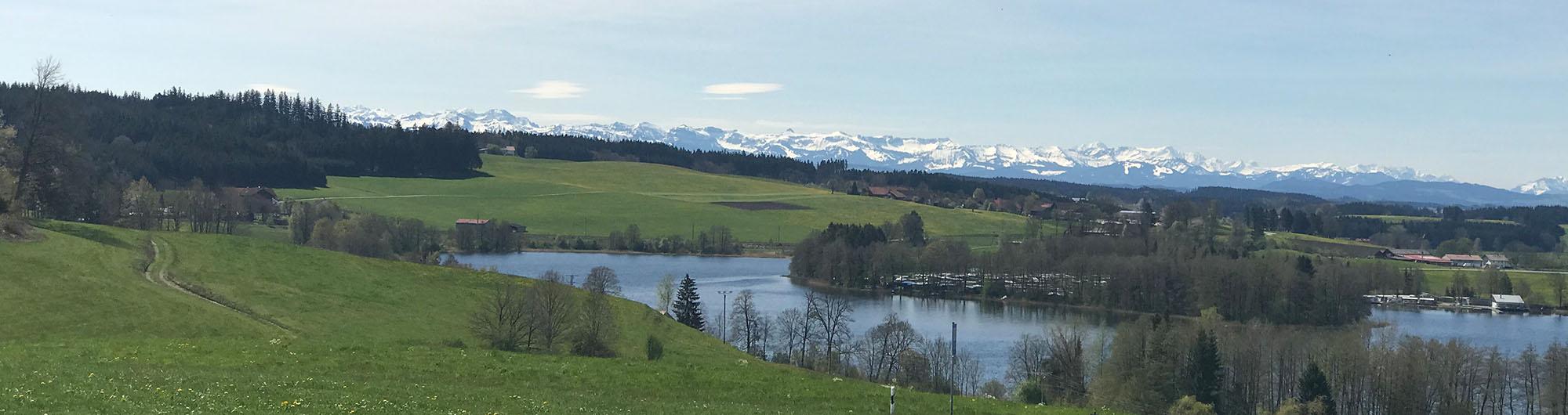 Berge Fruehjahr